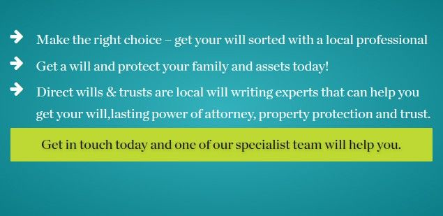 Writing a will really is easier than you think. What are you waiting for?